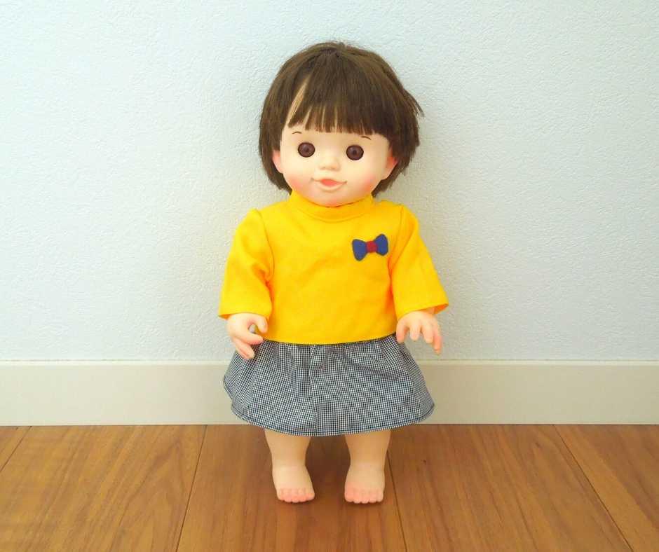 ぽぽちゃんスカート&長袖Tシャツ