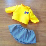 ぽぽちゃん 公式型紙から出来るスカートの作り方