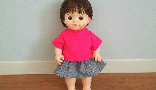 ぽぽちゃん 半袖Tシャツの作り方(型紙あり)
