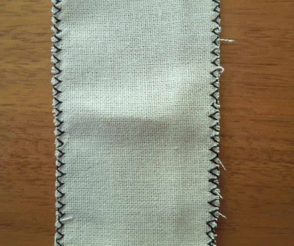 ジグザグ縫いアップ画像
