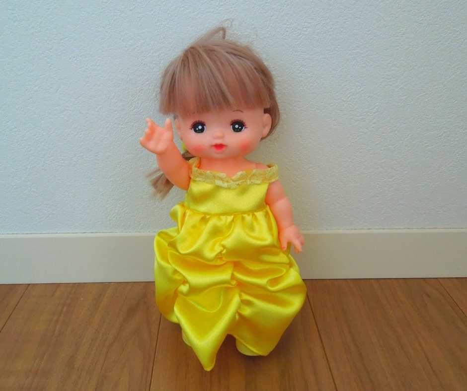 ベル風ドレス