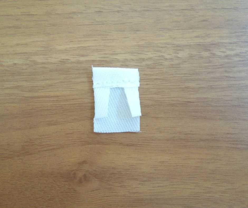 ポケットの縫いしろを折る