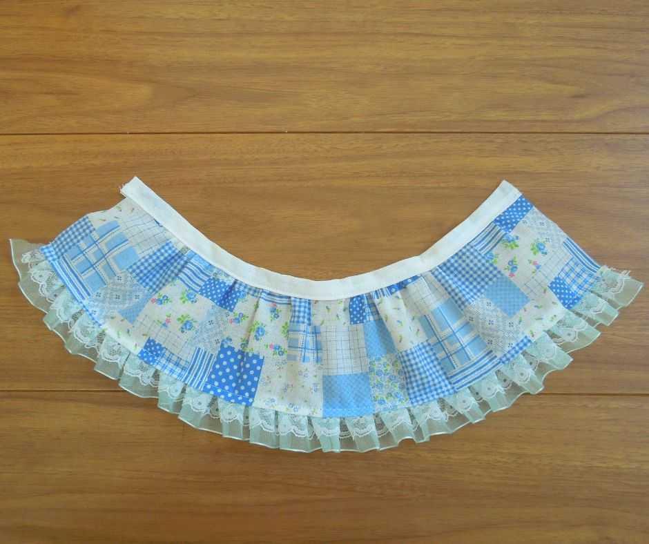 スカート部分の仕上がり