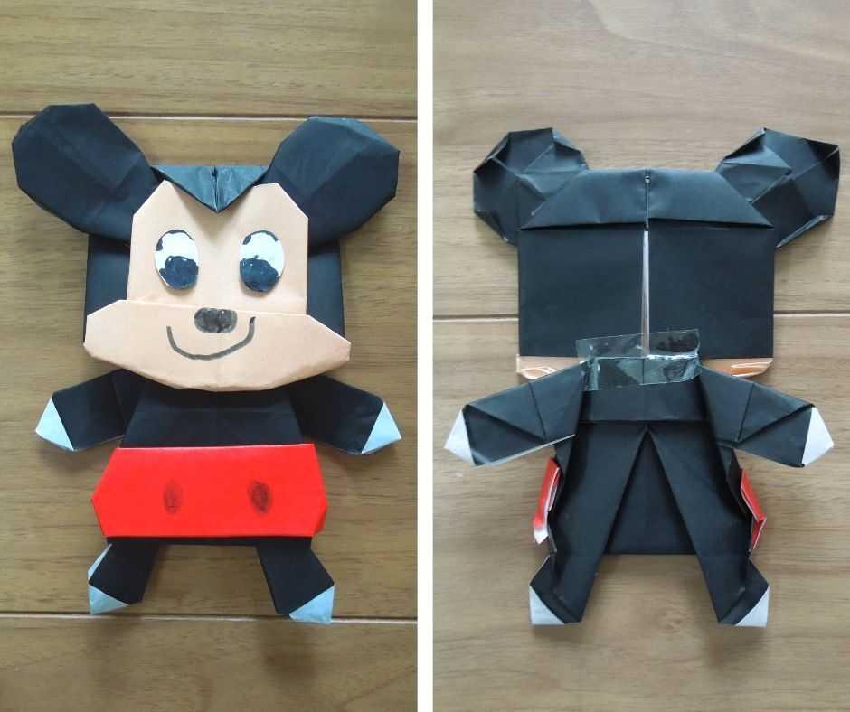 折り紙ミッキー