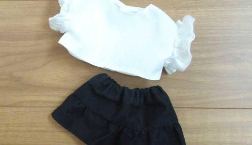ぽぽちゃん 袖フリルTシャツの作り方(型紙あり)