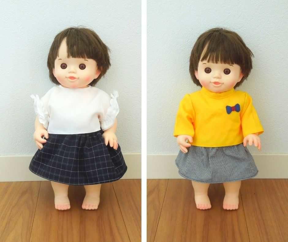 ぽぽちゃんスカート比較