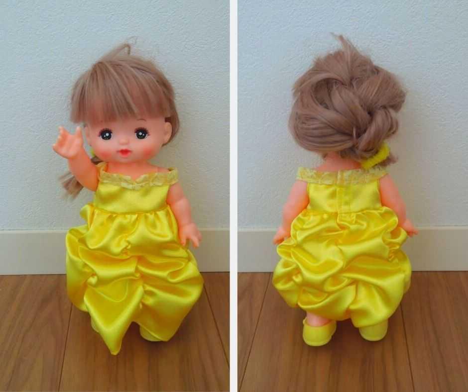 メルちゃんベル風ドレス