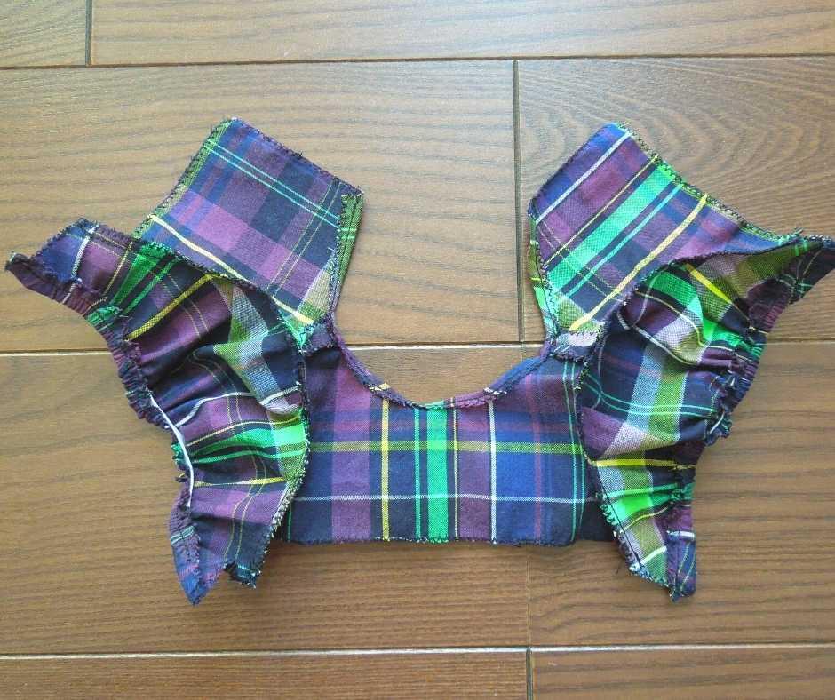 袖を縫い付ける