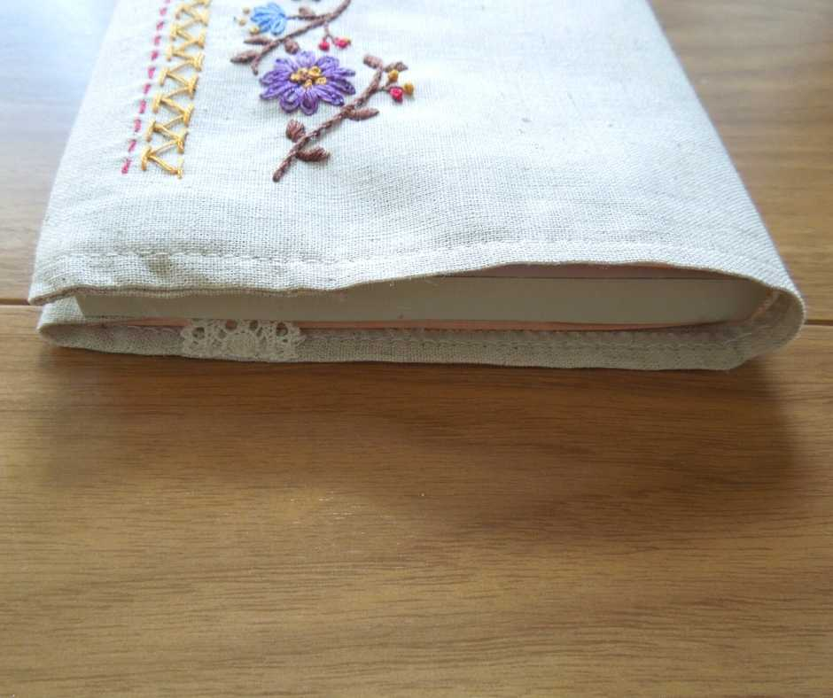 フェリシモ刺しゅうきほんのき ブックカバー