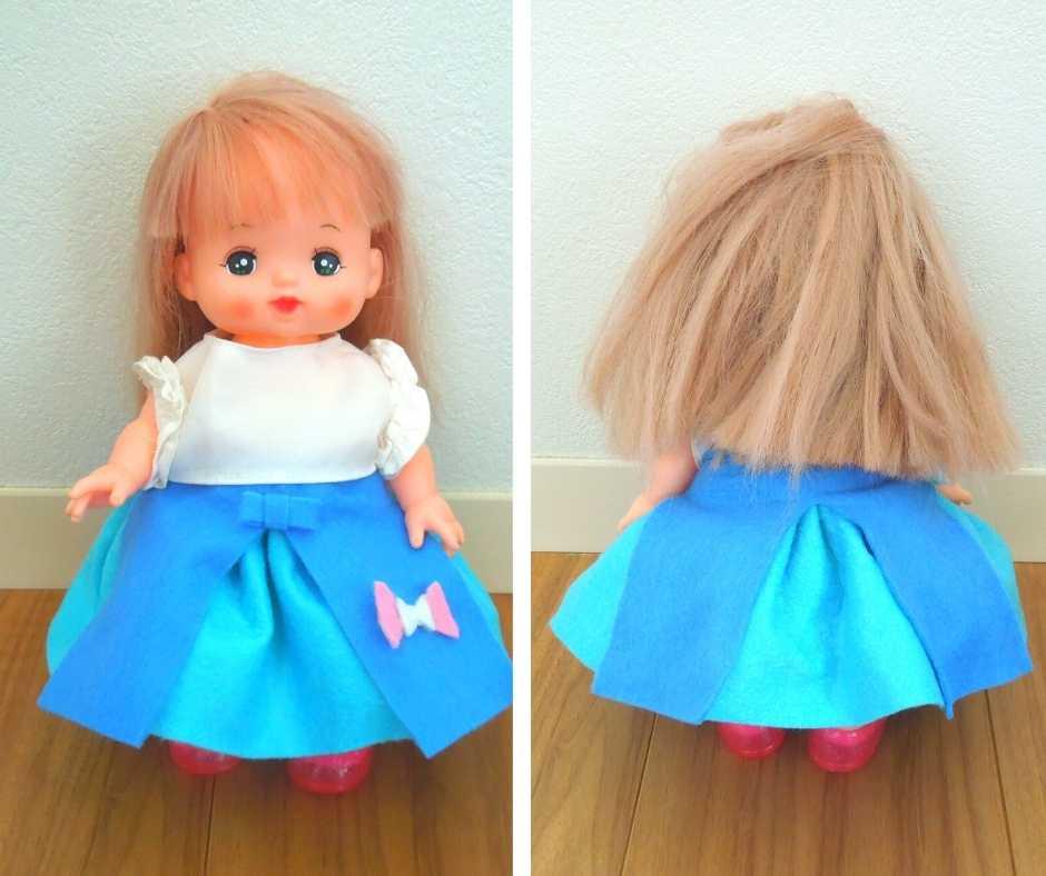 縫わないスカート
