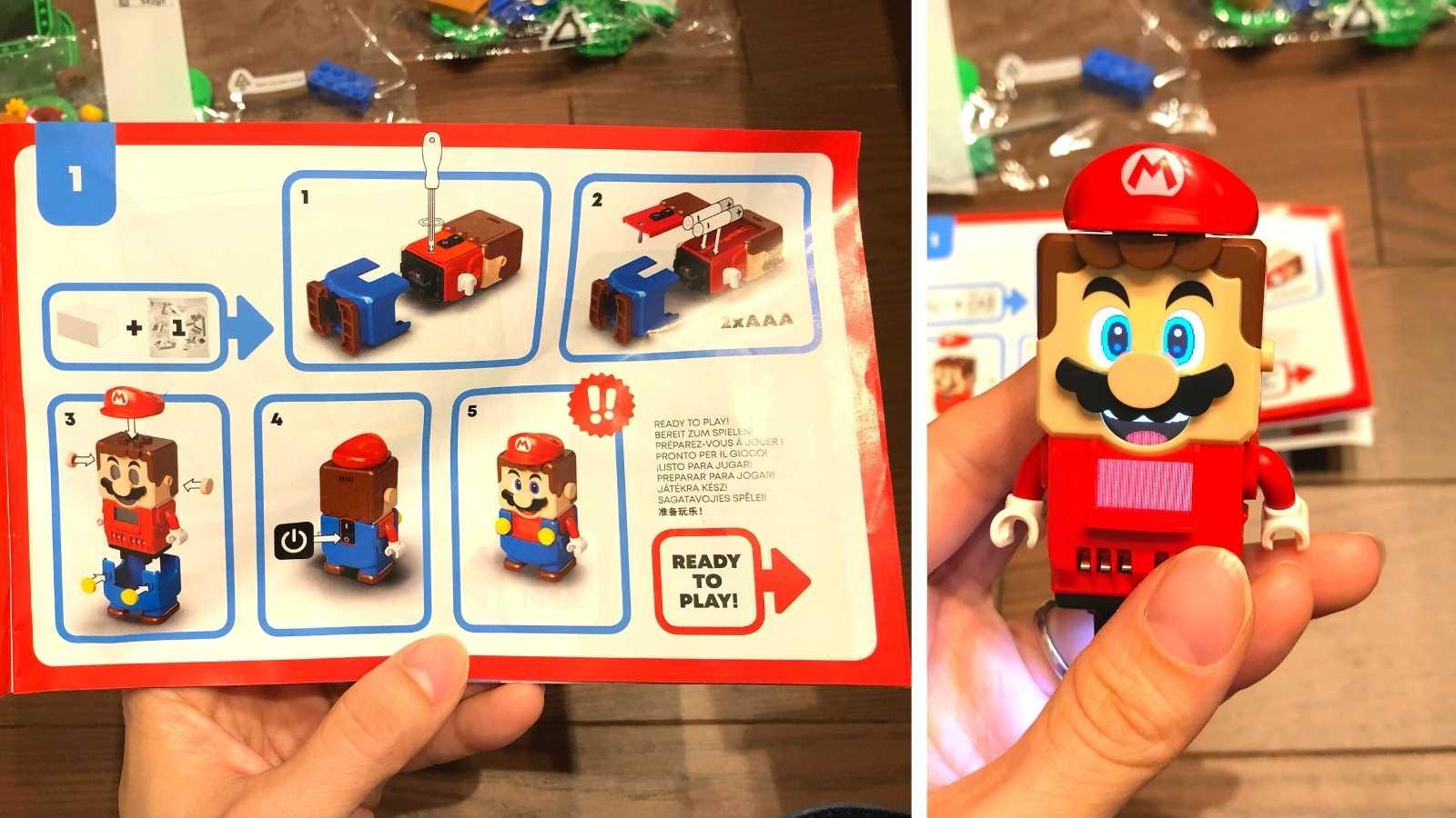レゴ マリオ 組み立て