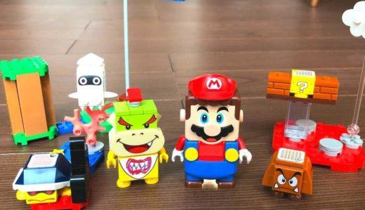 レゴ スーパーマリオ スターターセットが楽しい♪作り方から遊び方まで