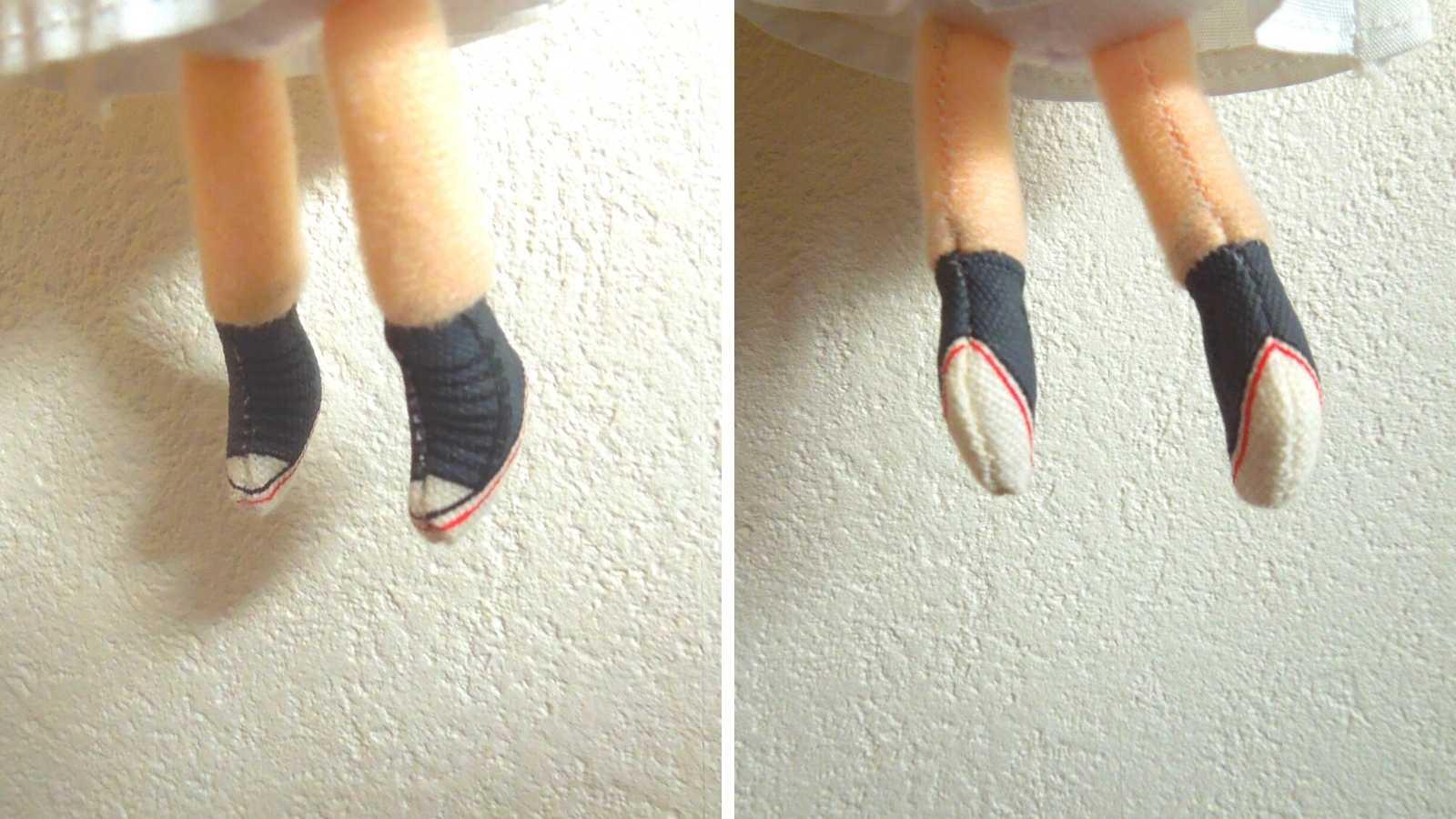 イルメール ハッピードール シークレットは靴が違う