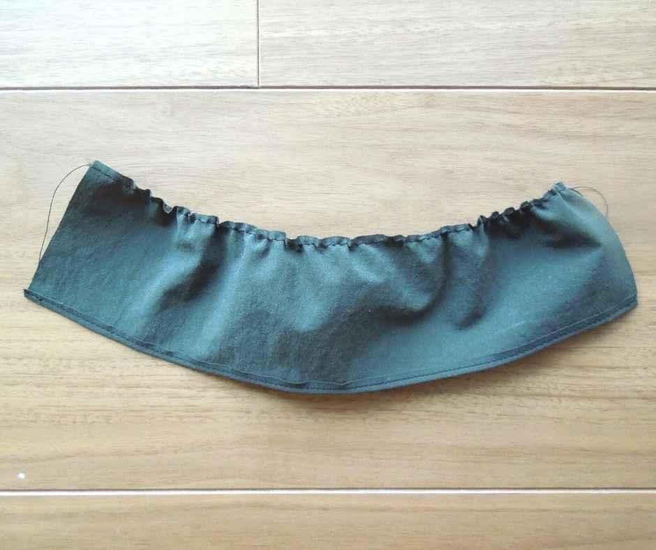 イーマリーサイズ 肩フリルワンピース スカートを作る
